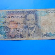 HOPCT INDONEZIA 1000 RUPIAH 1980 - bancnota asia