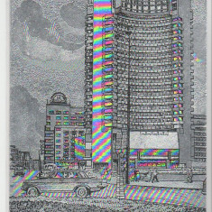 Bucuresti 1973 - hotel Intercontinental