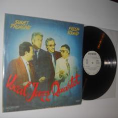VOCAL JAZZ QUARTET : Sunet Proaspat (Fresh Sound) (1990) vinil de jazz autohton - Muzica Jazz electrecord
