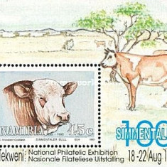 Namibia 1993 - vaci, colita neuzata