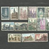 FRANTA - BISERICI SI CATEDRALE, serii stampilate, YT3, Stampilat