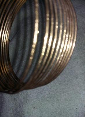 Bratara vintage tip spirala,bratara aurita,superba,T GRATUIT foto