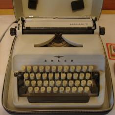 Masina de scris ADLER GABRIELE 10+banda noua de scris