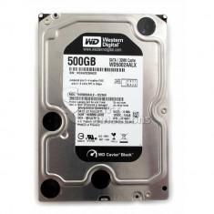 Hard WD Caviar Black 500Gb 32Mb cache, 7200rot/min SATA 3 - Hard Disk Western Digital, 500-999 GB, SATA2