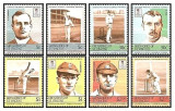 Grenadines of St Vincent 1984 - Cricketers, serie neuzata 2