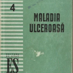 I. M. Flekel - MALADIA ULCEROASA - Carte Gastroenterologie