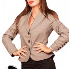 BDL43 Sacou office, model cu nasturi - Sacou dama, Marime: M, M/L