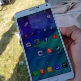 Samsung galaxy note 4 . Alb - Telefon mobil Samsung Galaxy Note 4, Neblocat