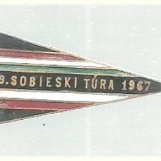 Insigna Turism comun Polonez-Ungar 1967