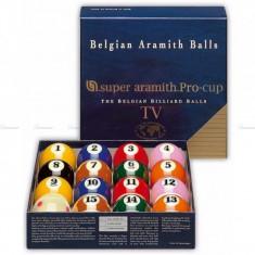 Set bile Aramith Pro-TV 2, 1/4 - Bile biliard