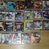 Ps 3 12 G + 25 jocuri originale se vad in foto MERITA - PlayStation 3 Sony