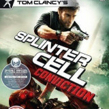 Tom Clancy's Splinter Cell - Conviction - XBOX 360 [Second hand] - Jocuri Xbox 360, Shooting, 18+, Single player
