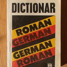 DICTIONAR ROMAN-GERMAN, GERMAN-ROMAN- LAZARESCU