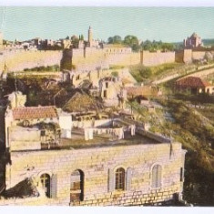 Jerusalem 1961 - old city wall