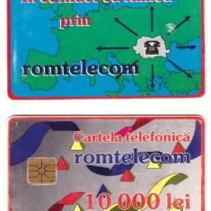Cartela ROMTELECOM 1993 - 10000 lei - Cartela GSM