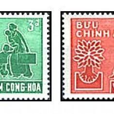 Vietnam Nord 1960 - Refugee Year, serie neuzata - Timbre straine