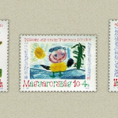 Ungaria 1992- pentru tineret, serie neuzata