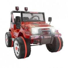 Masinuta electrica pentru copii, cu 2 locuri, Jeep, Rosu - Masinuta electrica copii