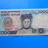 HOPCT INDONEZIA 1000 RUPIAH 1987 - bancnota asia