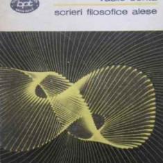 Scrieri Filosofice Alese - Vasile Conta, 408049 - Carte Filosofie