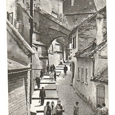 Sibiu 1978 - pasajul scarilor