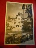 Ilustrata - Sinaia - Casa de odihna , circulat 1956