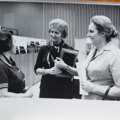 Mia Groza la cel de al treilea Comitet al Natiunilor Unite, 1970, 1 - Autograf