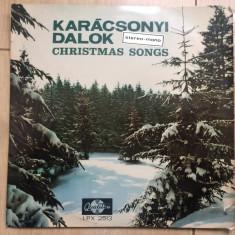 Karacsonyi dalok christmas songs compilatie disc vinyl lp muzica sarbatori, VINIL