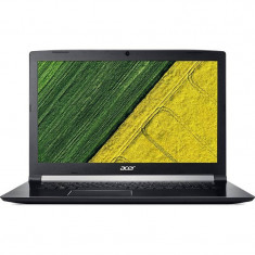 Laptop Acer Aspire 7 A717-71G 17.3 inch FHD Intel Core i7-7700HQ 8GB DDR4 256GB SSD nVidia GeForce GTX 1050 Ti 4GB Linux Black