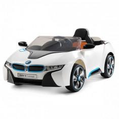Masinuta Electrica BMW I8 Concept 2017 White - Masinuta electrica copii Chipolino