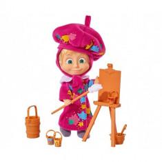 Figurina Masha Pictorita 12 cm - Figurina Povesti
