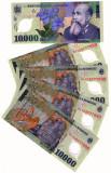 SV * Romania  BNR  10.000  LEI  2000 / ...  polimer  semnata M. Isarescu    UNC