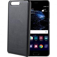 Husa Protectie Spate Celly GHOSTCOVER644BK Ghost Cu Magnet Negru pentru HUAWEI P10 - Husa Telefon