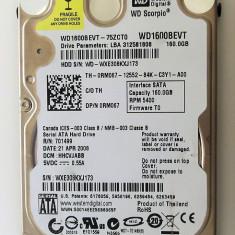 HDD laptop Western Digital 160gb 5400rpm WD 2.5