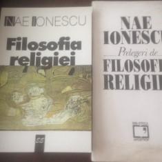 NAE IONESCU, PRELEGERI DE FILOSOFIA RELIGIEI. EDITIE INGRIJITA DE MARTA PETREU - Filosofie