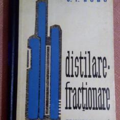 Distilare - Fractionare - V. I. Robu - Carti Energetica