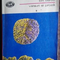 Versuri si proza - Ion Barbu