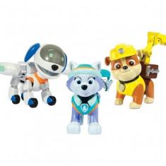 Set figurine Rubble, Everest si Robo-Caine Patrula Catelusilor