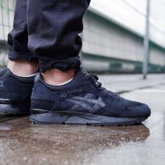 Adidasi Asics Gel-Lyte V Black Sneakers H5R2N-9090 nr. 39 - Adidasi barbati Asics, Culoare: Negru, Textil