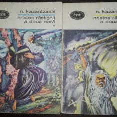 Hristos rastignit a doua oara - Nikos Kazantzakis (2 vol.)