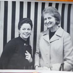 Mia Groza la Natiunile Unite cu Shirley Temple, New York, 1970, 1 - Autograf