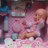 Bebelus cu olita si accesorii baie - Papusa