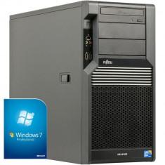 Sistem FUJITSU 2xXEON E5530 (2xI7) 32GB RAM 1TB Nvidia DVD-RW - Sisteme desktop fara monitor Fujitsu, Intel Xeon, 2501-3000Mhz, Peste 16 GB, 1-1.9 TB, Socket: 1366