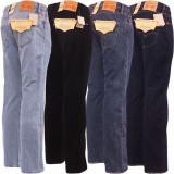 Jeans LEVIS 501 - Clasic FIT - Doar 15 lei livrarea prin UrgentCargus, 31, 32, 33, 34, 36, 38, 40, 42, 44, Albastru, Bleumarin, Negru, Lungi