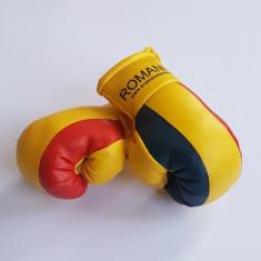 Breloc manusi box Anastasia Sport cu tricolorul Romaniei - Accesorii box