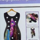 Organizator pentru esarfe The Black Dress