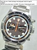 Rolex Tudor Chronograph Heritage .Original .Accept verificare oriunde !