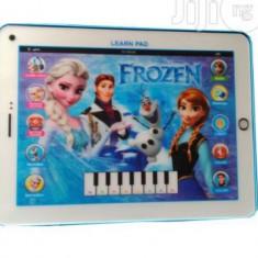 Tableta educativa Frozen 3D - Jocuri Logica si inteligenta