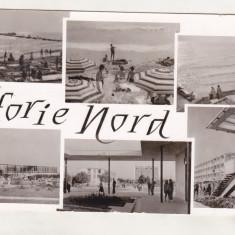 Bnk cp Eforie Nord - Vedere - uzata - Carte Postala Dobrogea dupa 1918, Circulata, Printata