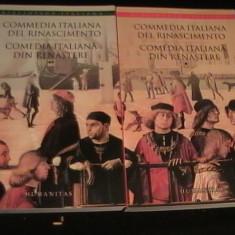 COMEDIA ITALIANA-DEL RINASCIMENTO-SMARANDA BRATU ELIAN-NUCCIO ORDINE-, Alta editura